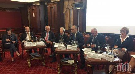 Цветанов: Чрез Антитерористичния закон ще се справим с предизвикателствата пред България, Европа и света