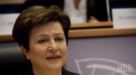 Кампанията на Кристалина Георгиева за шеф на ООН влиза в бюджет от 40 хил. лева