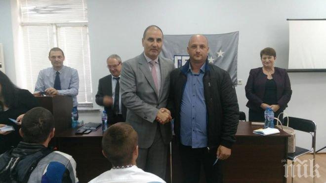 Цветанов в Омуртаг: Правителството на Борисов  се пребори за ниска безработица, модерно земеделие и инфраструктура (СНИМКИ)