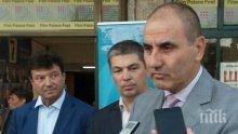 БОМБА В ПИК! Цветанов пред медията ни: Няма да заема поста на Цецка Цачева като председател на парламента