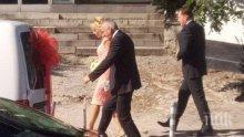 ЩАСТИЕ! Мая Манолова и Ангел Найденов вдигнаха сватба (СНИМКИ)