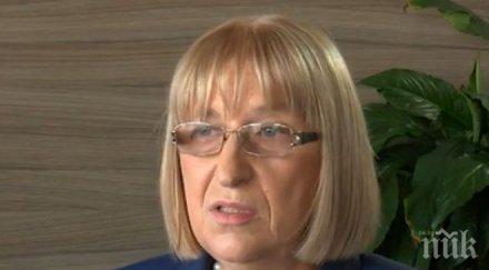 Цецка Цачева: Ще стана президент на България, тръгвам със самочувствие и увереност от научените в парламента уроци