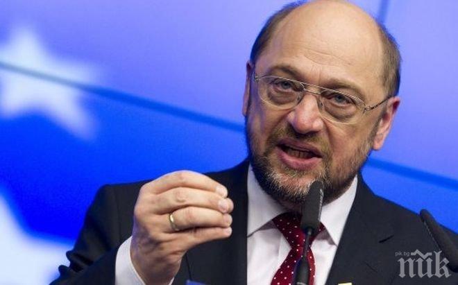 Мартин Шулц разкритикува референдума в Унгария