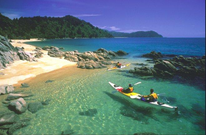 Нова Зеландия - между риба и кенгуру