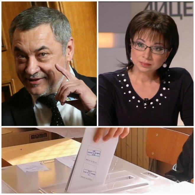 СКАНДАЛ В ЕФИР! Валери Симеонов попиля Цветанка Ризова: Защо не отидете да водите в друга телевизия, ами седите тука!