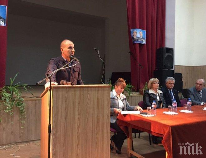 Цветанов: Ще се противопоставим на популизма и омразата