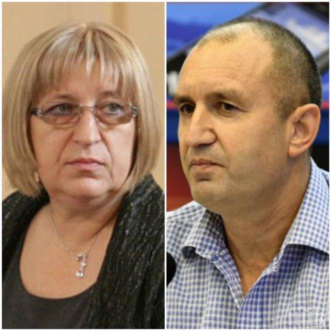 """""""Галъп"""": Цецка Цачева е първа с 19,2%, Румен Радев - втори"""