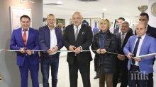 Красен Кралев и Анелия Нунева откриха Музей на спорта в Русе