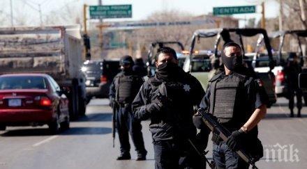 зверство отрязаха ръцете шестима мексиканци челата пише съм крадец