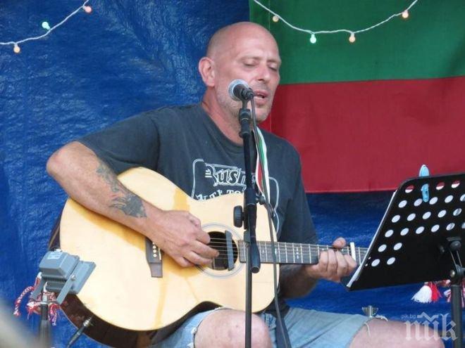 """Браво! Британец изпя на английски в рок версия """"Хаджи Димитър"""" на Христо Ботев (ВИДЕО)"""
