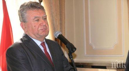 Писателят Марин Георгиев бе награден с ордена на президента на Унгария