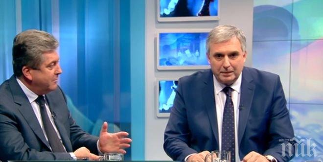 Първанов: Калфин във всеки момент може да се обади на Лавров, на Клинтън, на Щайнмайер и всеки друг лидер по света