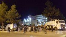 Диарбекир под полицейска блокада: Арестуваните кметове са двама