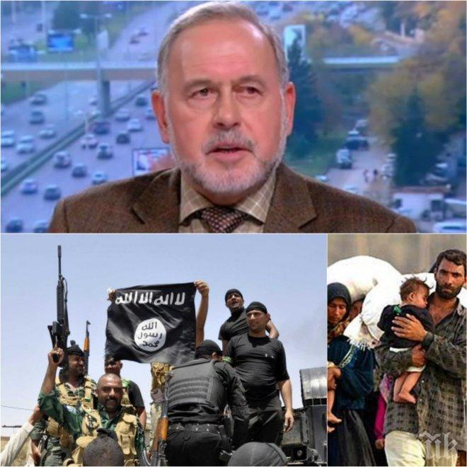 """ЕКСКЛУЗИВНО В ПИК! Експерт със страшна прогноза за войната с """"Ислямска държава""""! Чака ни нова бежанска вълна и битката на изгорената земя"""