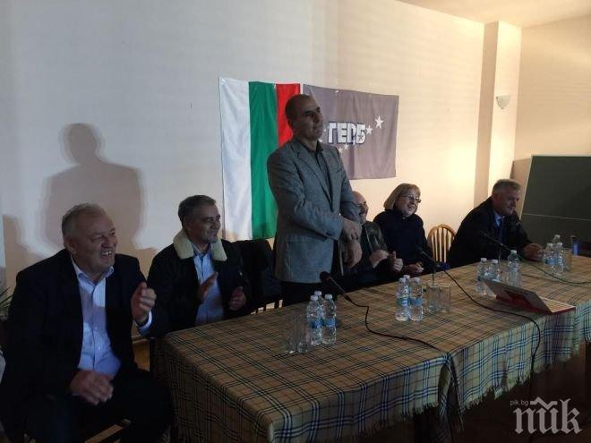 Цветан Цветанов в Чепеларе: Цецка Цачева и вицеадмирал Пламен Манушев ще гарантират стабилността на България