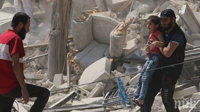 ДОКОГА КРЪВ?! 22 невинни деца убити при атака на училище в Сирия