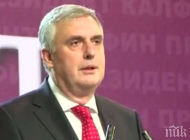 Ивайло Калфин: Освен пенсиите за мен е много важно да се увеличат и доходите от труд