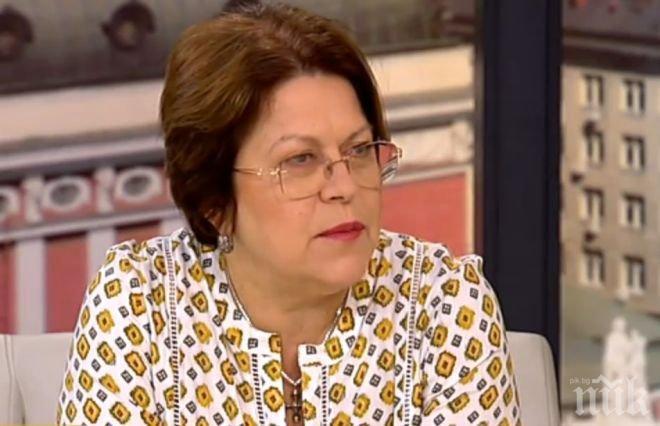 Татяна Дончева: Калфин и Каракачанов се уплашиха от дебат с мен!