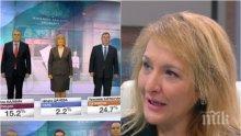 САМО В ПИК! Обрати в президентската битка - Каракачанов излиза ударно напред, Цачева и Радев изгубиха от бягството от дебати