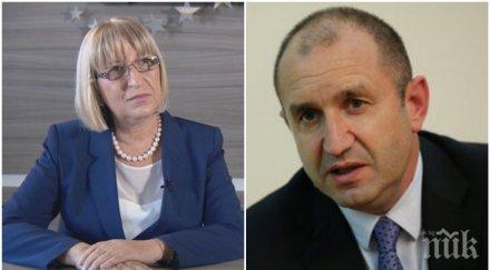 ОТ ПОСЛЕДНИТЕ МИНУТИ! Обрат след обрат в резултатите - Цецка Цачева продължава да води на Румен Радев, Калфин догонва Каракачанов