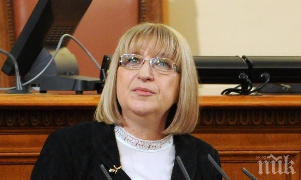 Цецка Цачева подписа етично споразумение за защита правата на хората в неравностойно положение