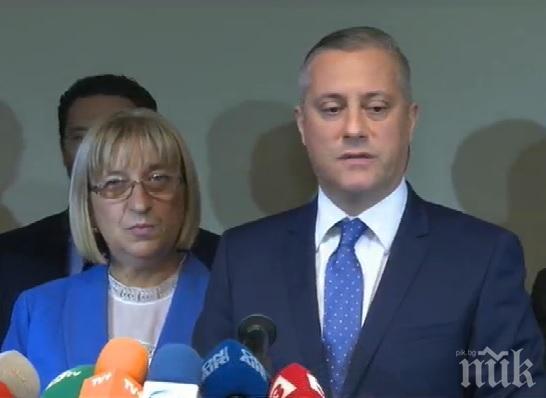 ИЗВЪНРЕДНО В ПИК! Лукарски с първи думи след срещата с Цачева: Няма да върнем комунистите на власт!