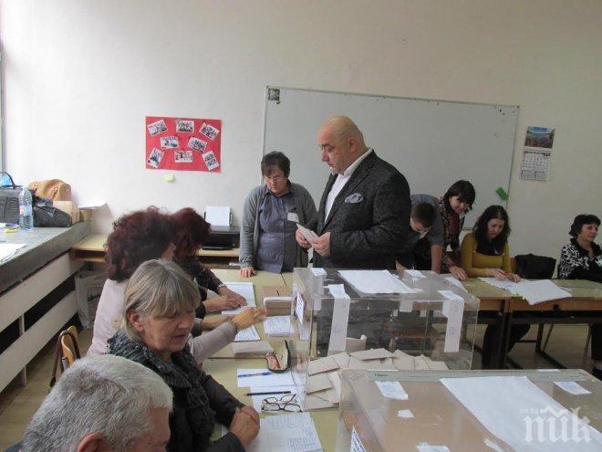 Красен Кралев: Гласувах за единствената кандидатпрезидентска двойка, която гарантира европейското развитие на България