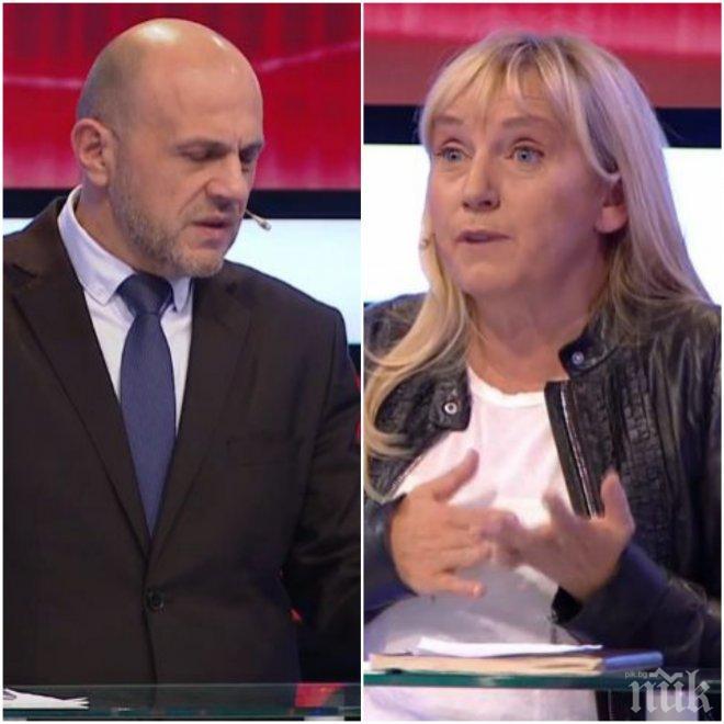 ИЗВЪНРЕДНО! Томислав Дончев и Елена Йончева се замеряха с политически послания преди балотажа, но се нажежиха за ООН