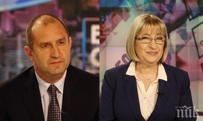 Цецка Цачева: Предимството ми пред Радев, е че съм юрист, познавам законите и знам, че на България й трябва справедливост!