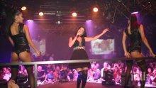 """Преслава нажежи купона в клуб """"33""""! Певицата врътна главата на романтичен ухажор и получи червени рози (СНИМКИ)"""
