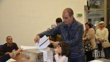 Цветан Цветанов: Гласувах за знаещия президент