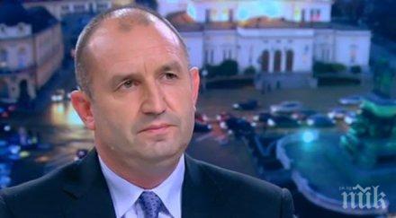 Румен Радев: Не преговарям с олигархични кръгове