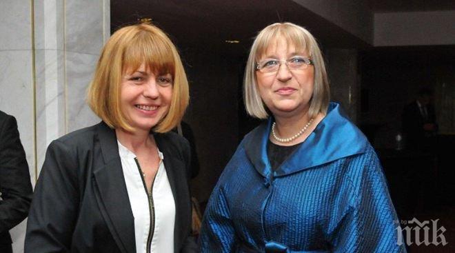 Фандъкова поздрави Цачева за представянето на дебата