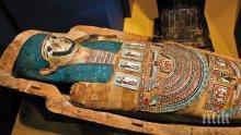 В египетска гробница е открит хилядолетен саркофаг с мумия
