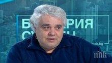 Сашо Дойнов в потрес - не чул кандидат-президентите да говорят за култура
