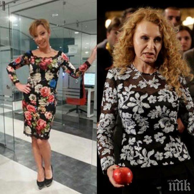ВОЙНА НА СВЕТОВЕТЕ! Кака Лара нападна Беновска след изцепката с ябълката: Мащехата на Снежанка??? (СНИМКИ)