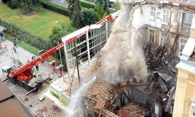 """ОКОНЧАТЕЛНО: Няма виновни за рухналата сграда на ул. """"Алабин"""", където загинаха две жени"""
