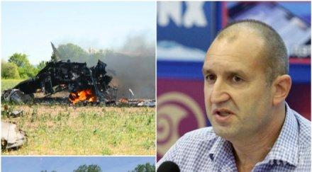 СКАНДАЛНО РАЗКРИТИЕ НА ПИК! Боен самолет за 180 млн. лв. катастрофира под командването на Румен Радев