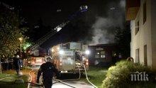 Взрив на автомобил и престрелка в Швеция, има ранен