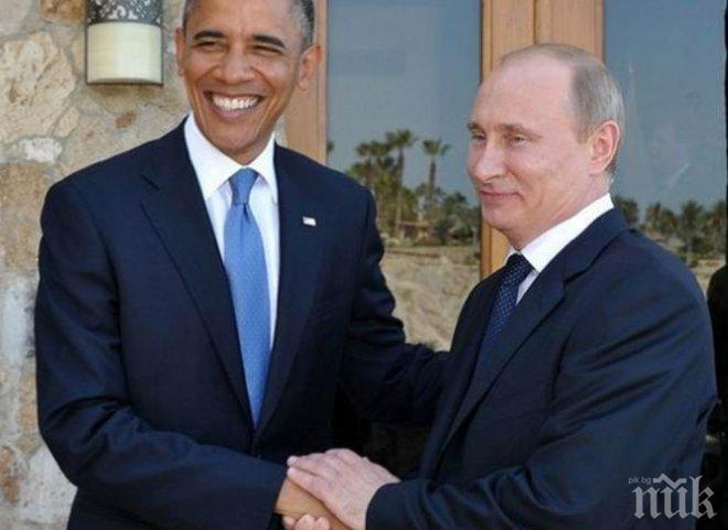 """Путин и Обама """"совсем кратко"""" переговорили на саммите АТЭС, - Песков - Цензор.НЕТ 2105"""