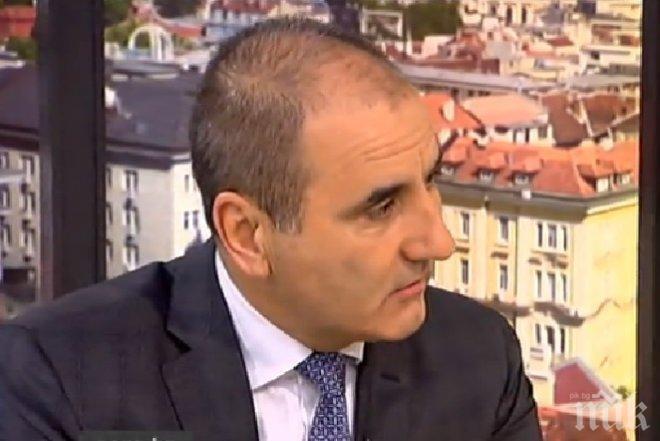 Цветанов категоричен: Няма да си подавам оставката