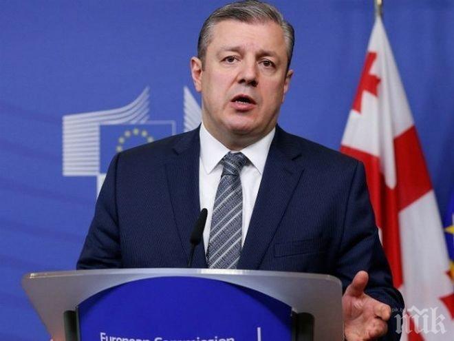 Първата визита на новия премиер на Грузия е в Брюксел