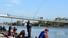 ЮРУШ НАВРЪХ НИКУЛДЕН! Отварят за риболов Гребния канал в Пловдив