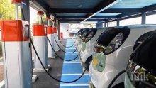 Пловдив влезе в бъдещето с електромобили (СНИМКИ)