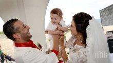 ПОТРЕС! Тупалката на чалгата се развежда след две години брак