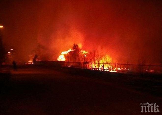 Ужас! Цяла махала изгоряла след взривовете в Хитрино