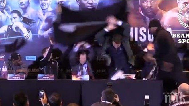 Невиждано! Огромен скандал в бокса! Победен от Кобрата не издържа и... (КУЛТОВО ВИДЕО)