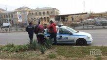 ЗВЕРСТВО! Обезумял мъж преби жена с тръба до гарата в Пловдив (СНИМКИ)