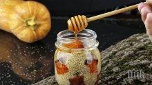 Еликсир с тиква и мед помага при настинки и грип