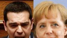 Ципрас от Берлин: Трябва да се компенсират гърците, направили саможертва